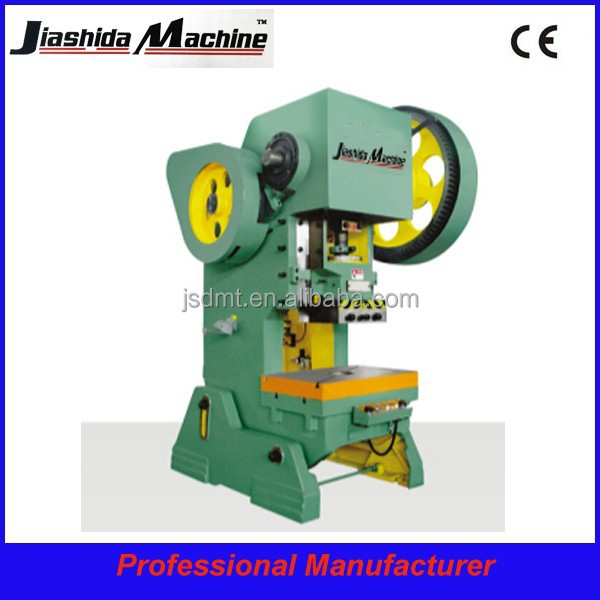 J23 series Inclinable open type eccentric press, c frame power press