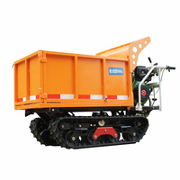 mini crawler type truck dumper