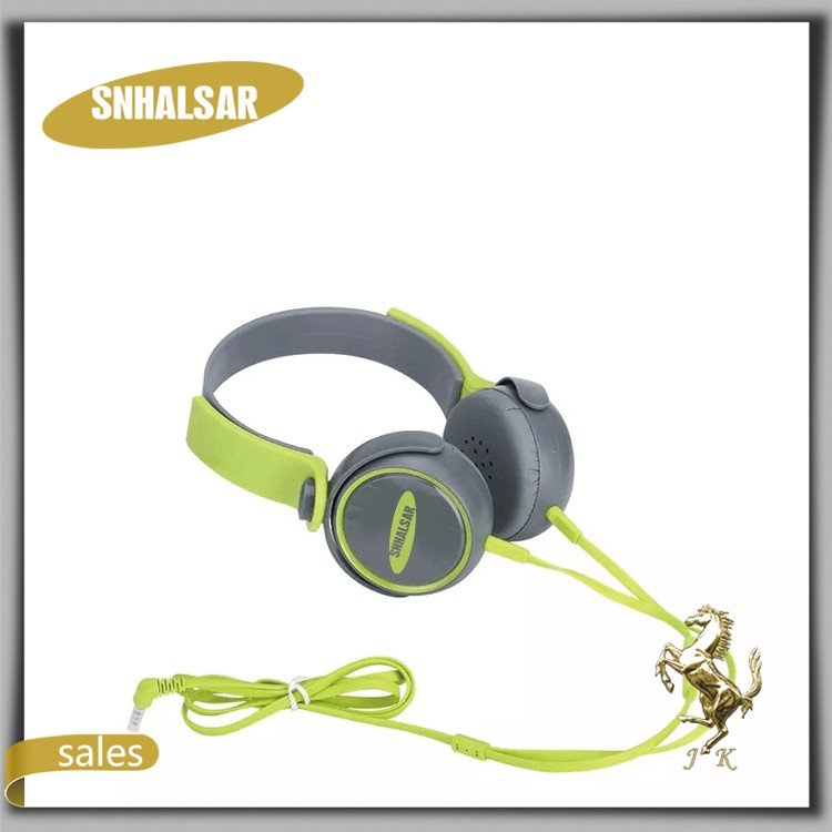 SNHALSAR Fashion colourful design Over-Ear headphones headsets