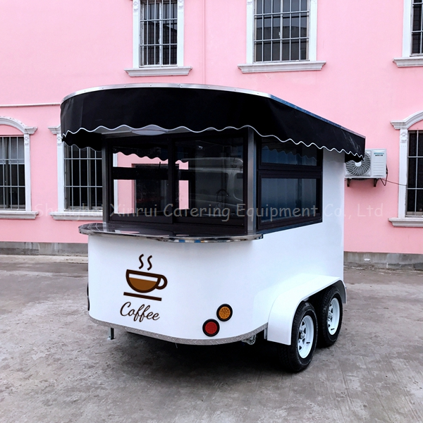 mobile coffee kiosk cart shop for sale