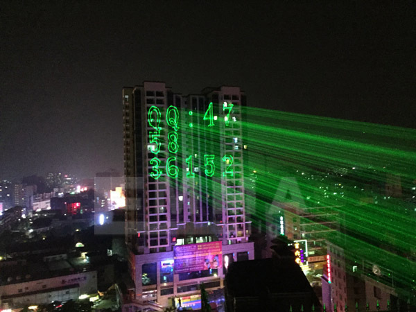 Outdoor Christmas Lights Rgb Laser Projector Holiday Garden ...