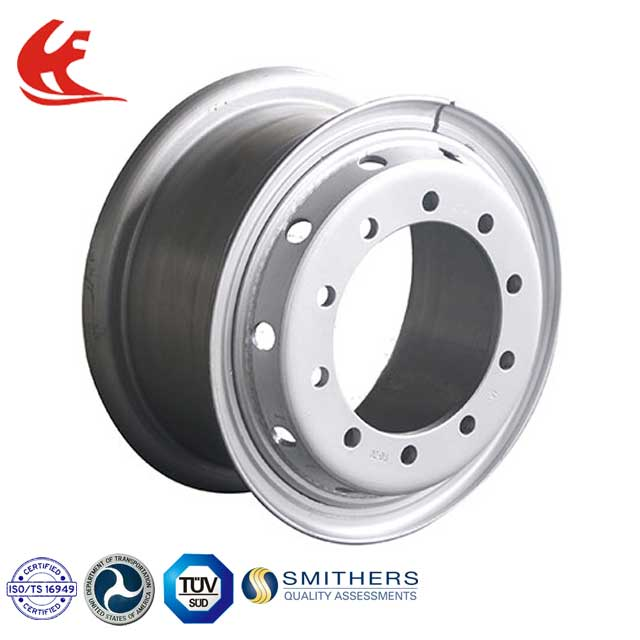 Large Wheel Rims Steel Wheel Rims Steel Wheel Disc with Valve Hole Valve Aperture for Truck Use