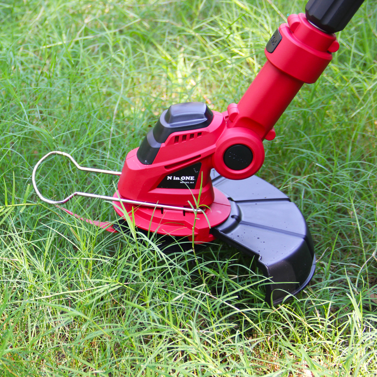 N in ONE 18V Li-Ion 10 x Plastic Blades 250mm 1.5Ah Battery Cordless Grass Trimmer