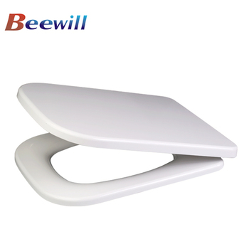 Square Shaped Compact Back To Wall Toilet Pan WC Soft Close Seat U0026  Concealed Cistern