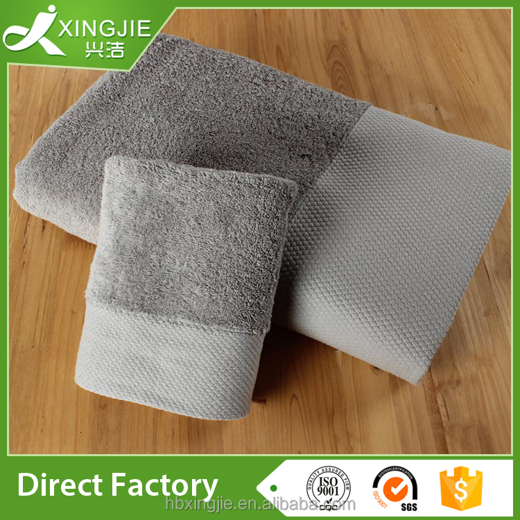 manufacturer wholesale 100% organic cotton french terry towel