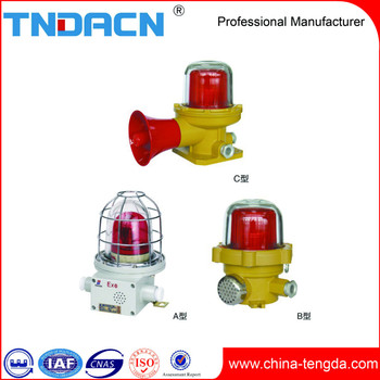 BBJ type explosion-proof audible and visual warning lamp