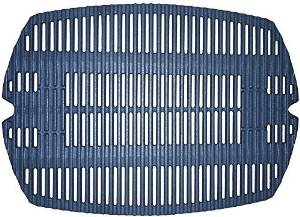 Music City Metals 63821 Matte Cast Iron Cooking Grid Replacement for Gas Grill Model Weber Q220 by Music City Metals