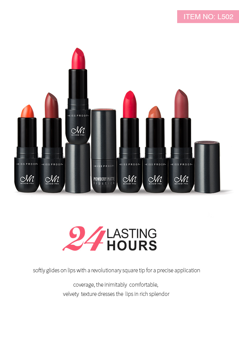 Make Your Own Lip Makeup Lasting 24 Hours Matte Lipstick