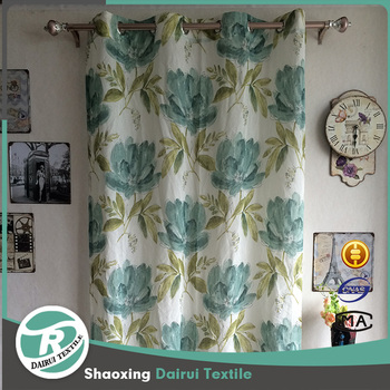 Wholesale Window Designs Indian Style Printed Curtain