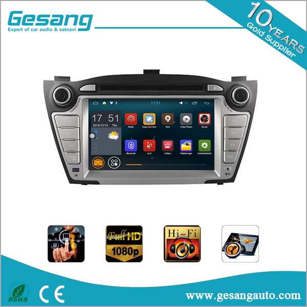 Android car dvd player for HYUNDAI TUCSON/ix35 (2009-2013) wirh fm&am car radio built in wifi and gps