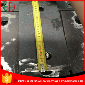 Ni-Hard Wear Plates Cast Iron Back Plates for Cement Mills EB10003