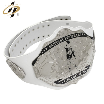 Manufacturer custom sliver metal fantasy football Championship belts