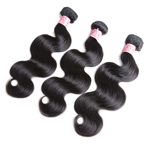 JP Free Shipping Brazilian Virgin Hair Body Wave 100% Unprocessed Brazilian Human Hair Weave Brazilian Remy Hair Extension