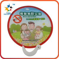Nylon Foldable Frisbee/2016 customized foldable frisbee/fan with a pouch