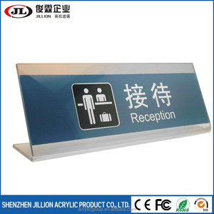 Printing Acrylic Office Desk Name Plate