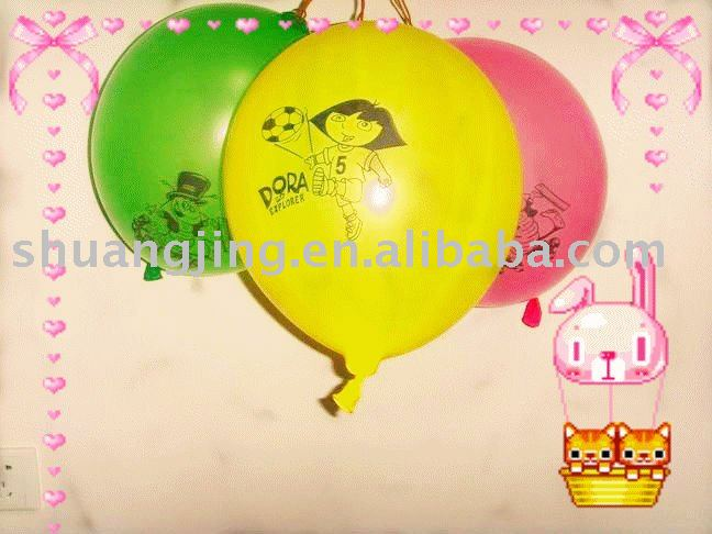 neon punch toy balloon