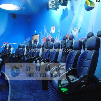 Akuarium Taman Sistem Gerak Bioskop 5d Disesuaikan Desain Tema