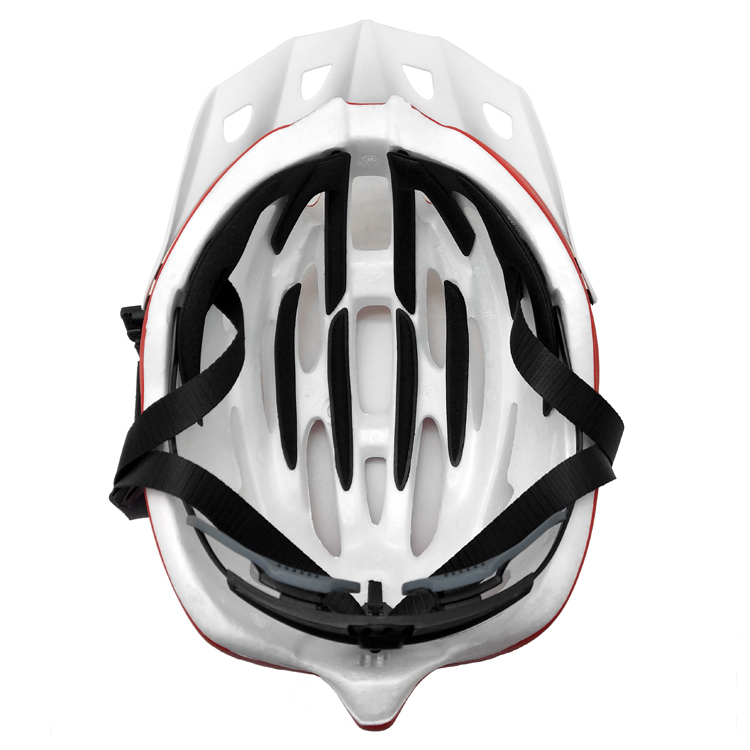 Matte airflow bike helmet; bicycle helmet with lights