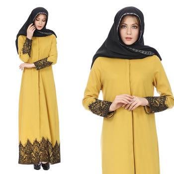 ad2bde50ac High quality ladies modern drop shipping india clothes pakistan islamic  simple kaftan dress