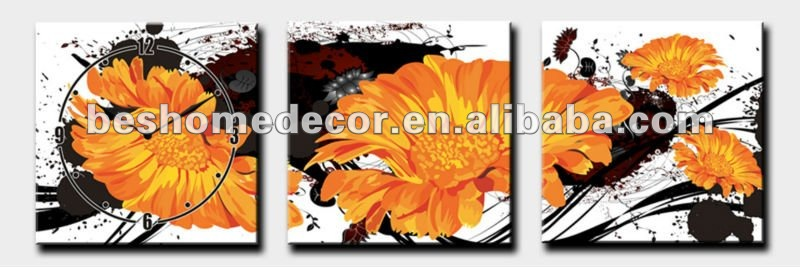 oil painting <strong>pictures</strong> of flowers,flower oil painting,flower oil painting <strong>pictures</strong> with clock