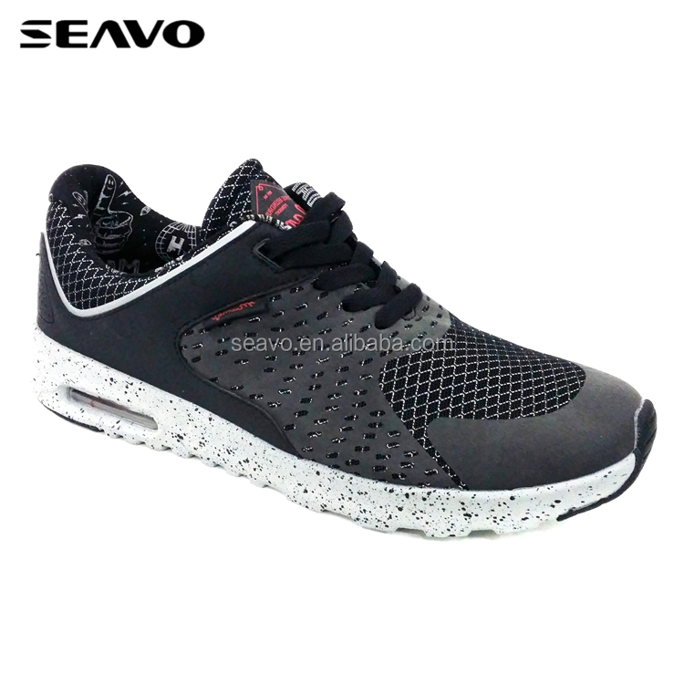 SEAVO SS17 new model light weight fashion comfort and breathable shoes men sneakers