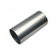 wholesale cheap price anodized silver 6063 t5 t6 aluminium alloy extruded flat half round corner tube pipe for led heatsink