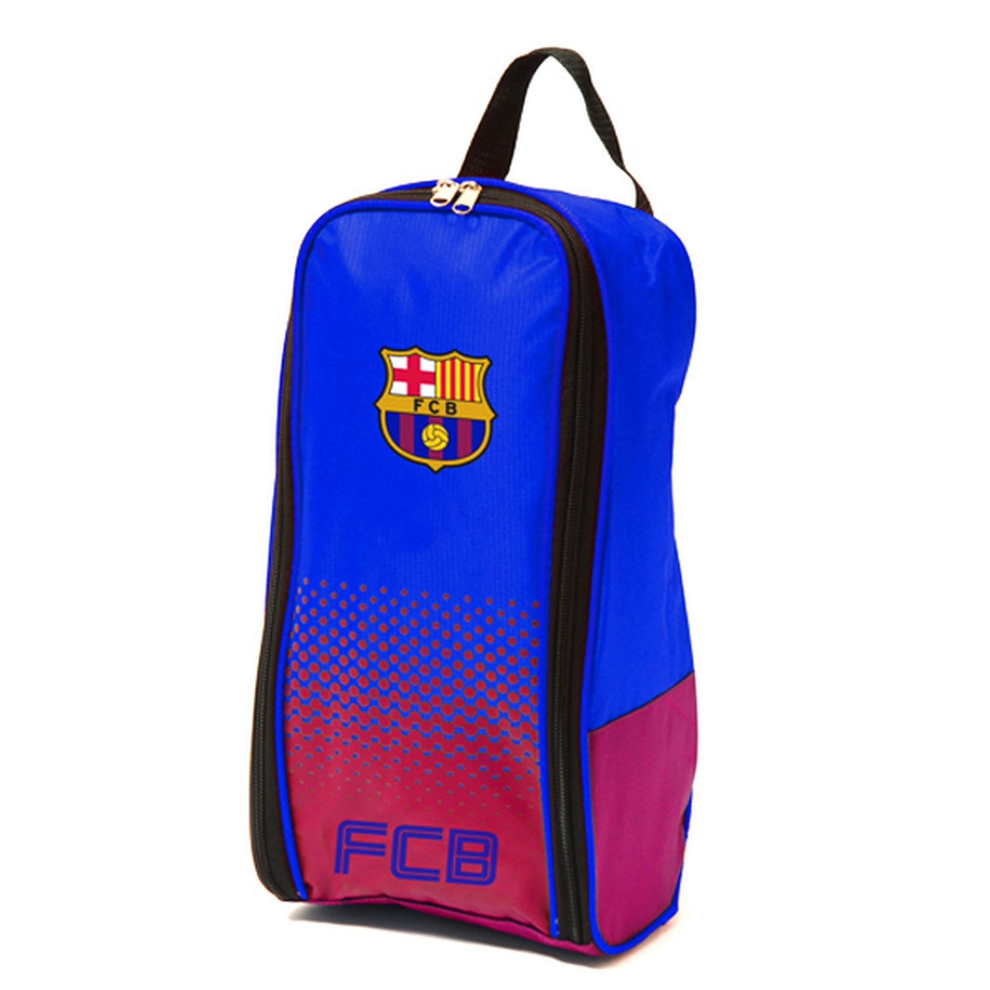 4fba81d70 Get Quotations · FC Barcelona Official Fade Football/Soccer Crest Shoe/Boot  Bag
