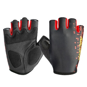 Good quality men women fingerless riding bike gloves outdoor cycling bicycle gloves manufacturer