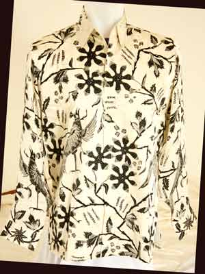 Men's Authentic Indonesia Batik Shirts