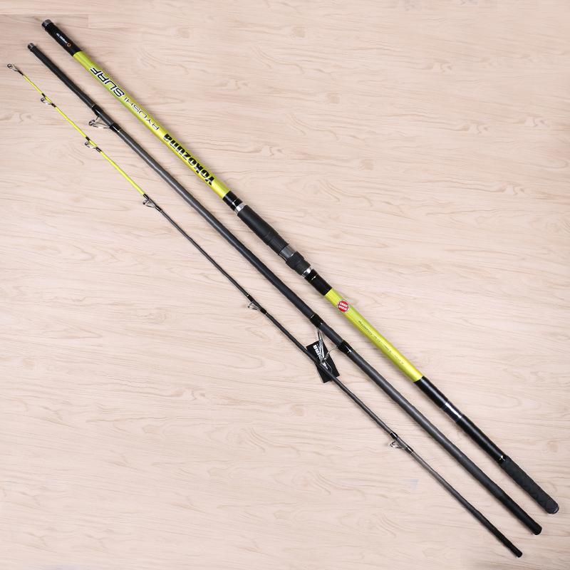 4.2m c.w 100-200g Carbon Surf Casting Fishing Rod