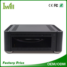 Mini itx fanless MPC-T8 aluminum HTPC Case