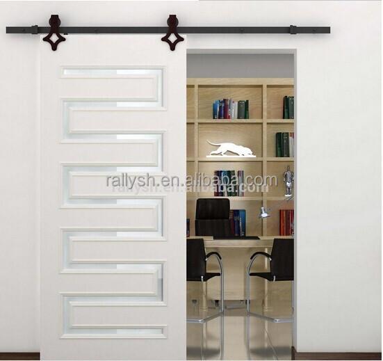 stall holz schiebetore hardware& scheunentor gleisanlage-tür,