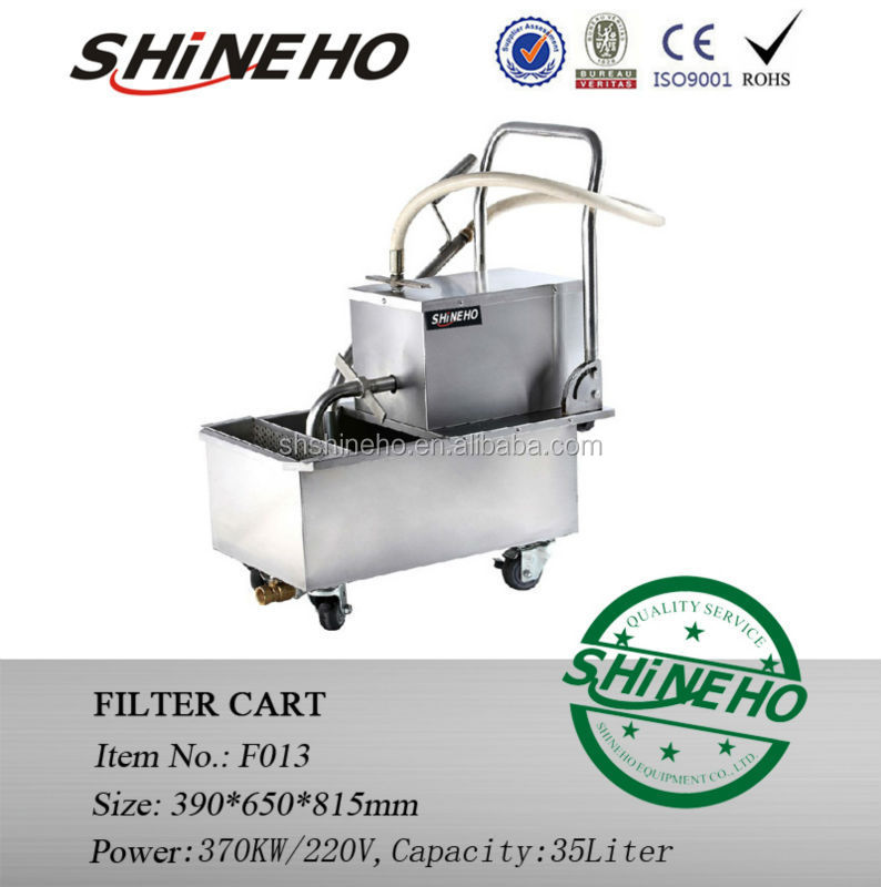 filter machine for restaurant