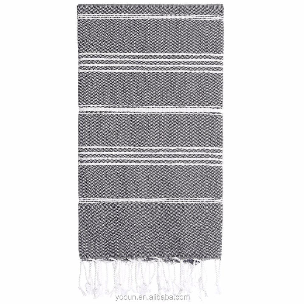80*160cm 180gsm Turkey 100% Genuine Turkish Cotton beach <strong>towel</strong> hummam fouta <strong>towels</strong> with tassels