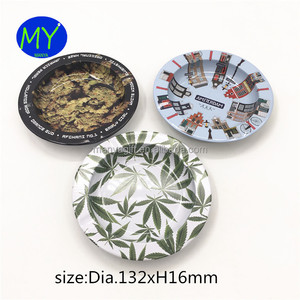 Hot selling round stainless steel ashtray with good quality