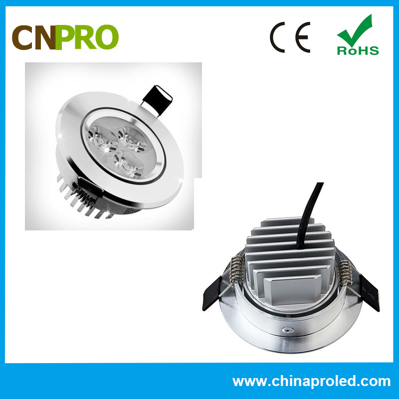 9w led downlight 140mm super bright 140*45 l CE ROHS