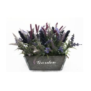 Potted Flower For Home Garden Decoration Artificial Lavender