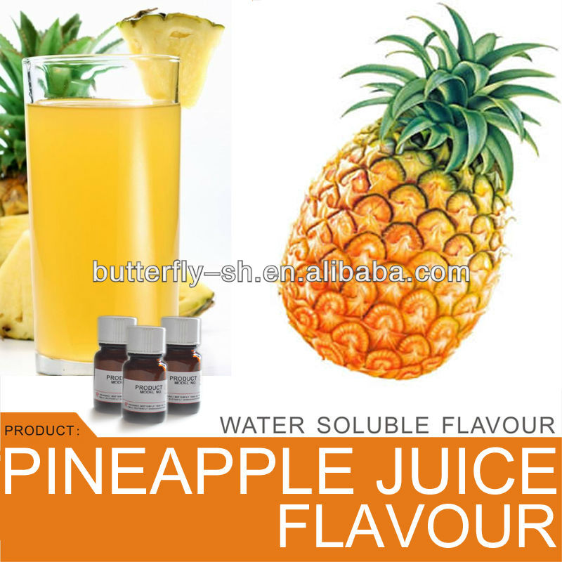 Fresh pineapple juice flavour