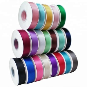 Small MOQ Wholesale 3cm satin ribbon