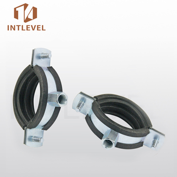 Intlevel Stainless Steel Two Screw Pipe Clamp With Epdm