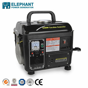 Portable gasoline generator 950 with voltage meter
