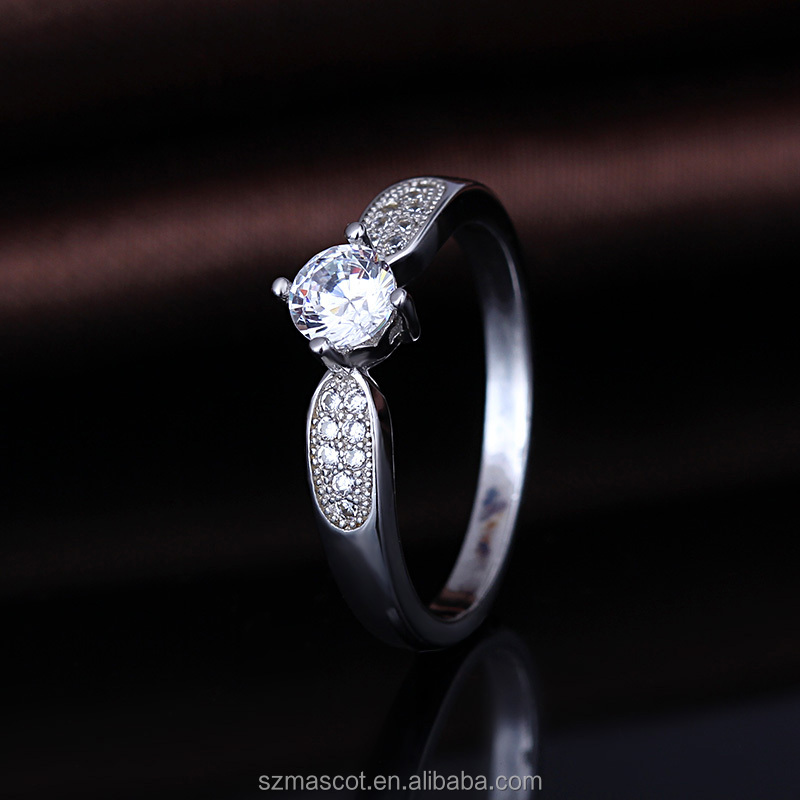 low moq jewel for wedding anniversary jewelry accessories parts ring