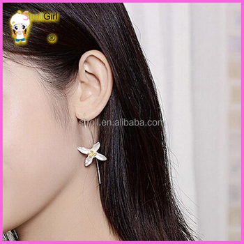 925 Silver Hypoallergenic Earrings Fashion One Piece Dress