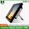 lcd monitor with component input of 15 Inch industrial touch monitor with pole display