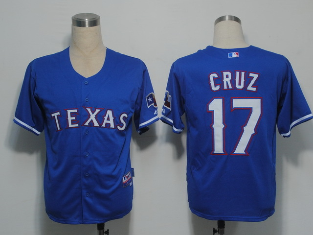 Texas Rangers Nelson Cruz #17 Cool Base Jersey