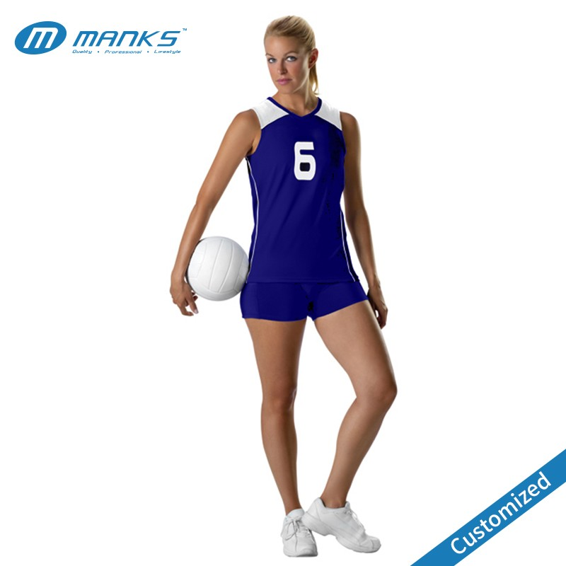 Meisjes volleybal uniform, custom volleybal uniform ontwerp, volleybal jersey leveranciers