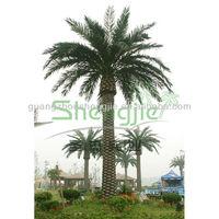 Sleek Realistic artificial medjool date palms tree