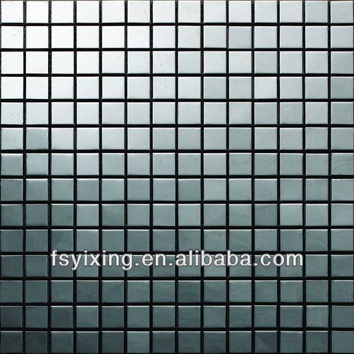 In acciaio inox piastrelle di mosaico per parete interna for Listelli decorativi per piastrelle