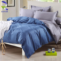 Stable Quality China Supplier Bamboo Twill Color Bedding Set Cotton Bed Sheets Sets