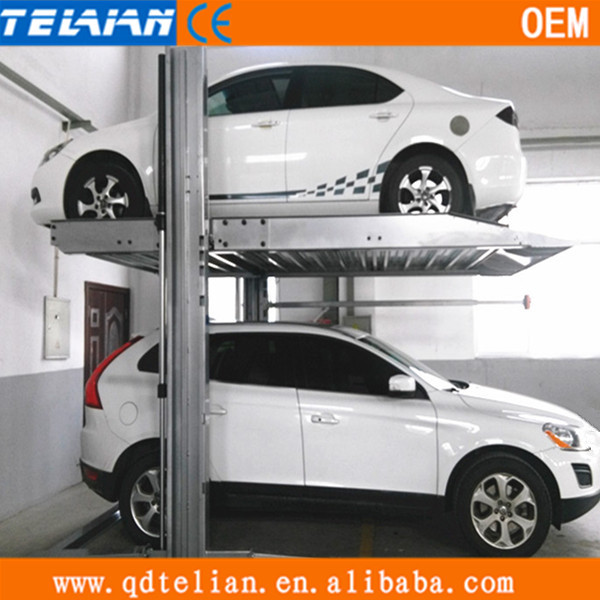 Made In China Smart Car Storage 2 Post Parking Lift Outdoor Duplex System Product On